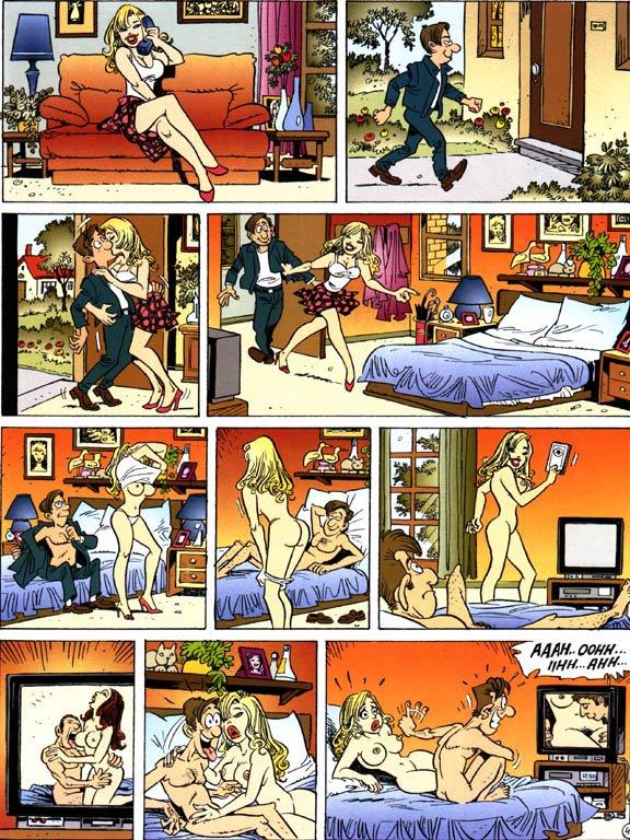 Порно (смешной эро комикс). смешной комикс. Эротические комиксы